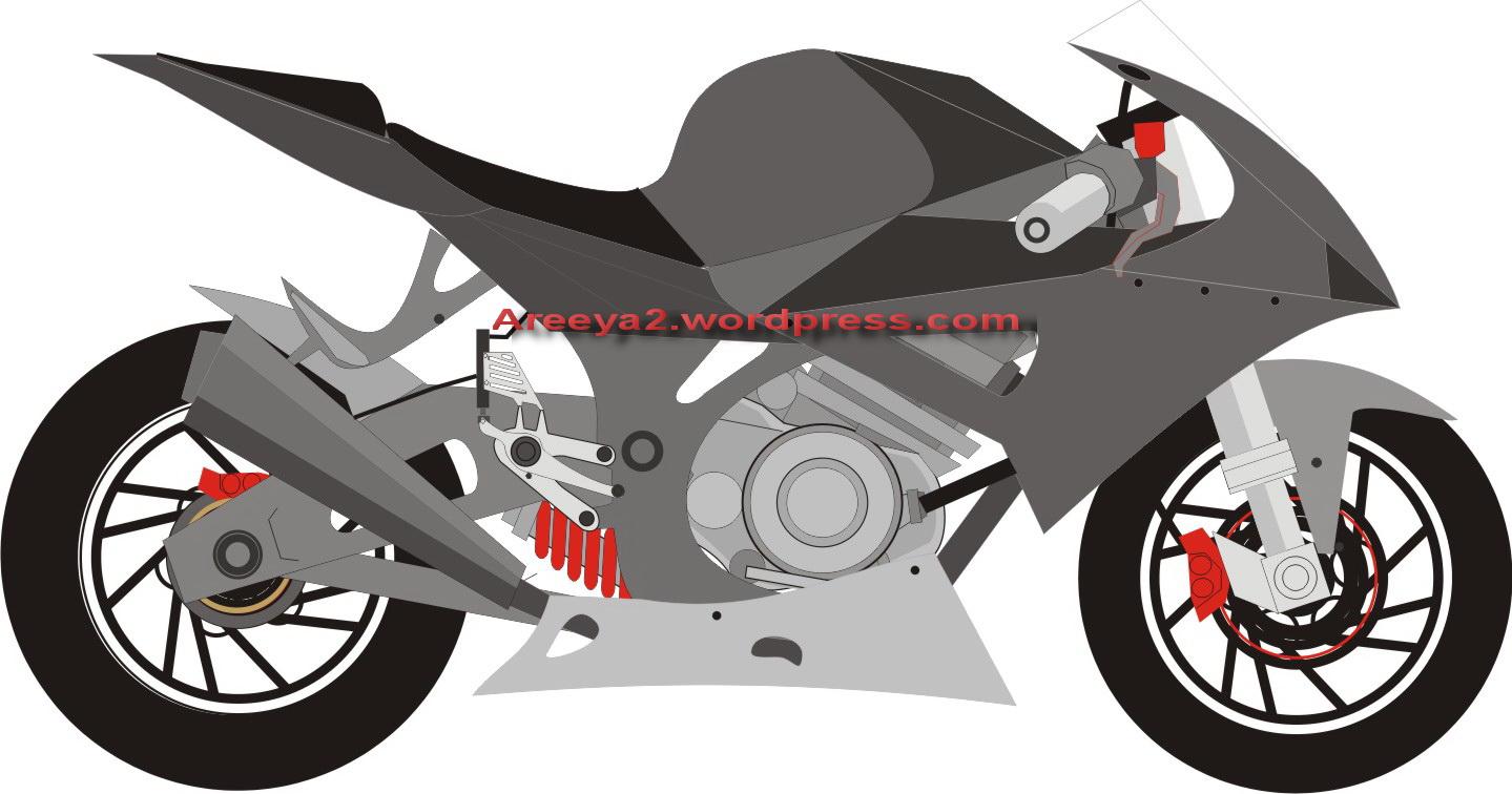 Download Gambar Sketsa Motor Drag