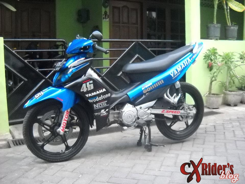 Modifikasi Jupiter Mx Cw 2006