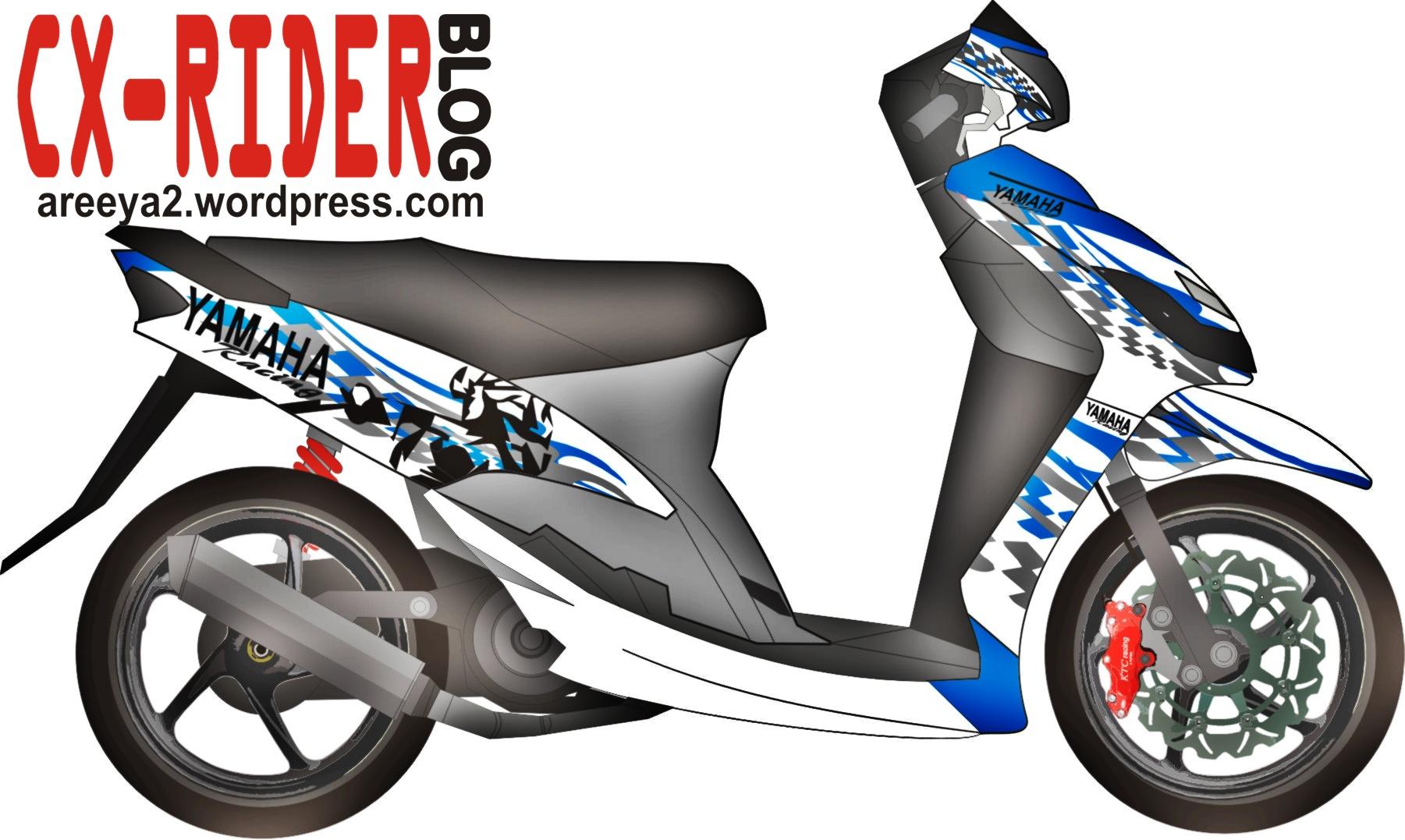 Koleksi Gambar Sketsa Motor Drag Mio Terbaru Dinding Motor