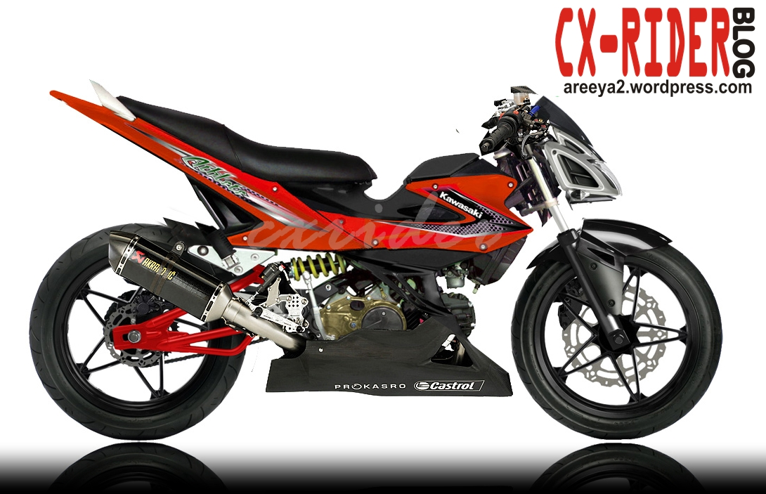 Image Kawasaki Athlete Modifikasi
