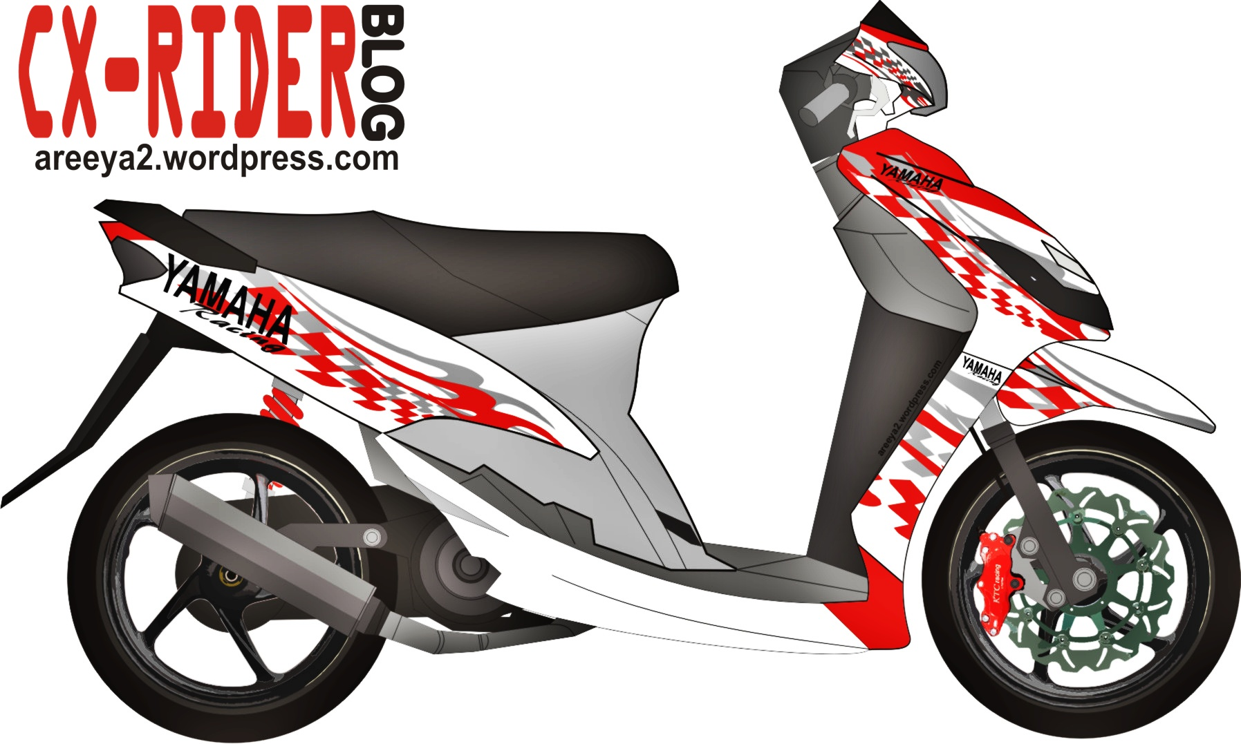 Koleksi 81 Modifikasi Motor Mio Cutting Sticker Terkeren Dinding