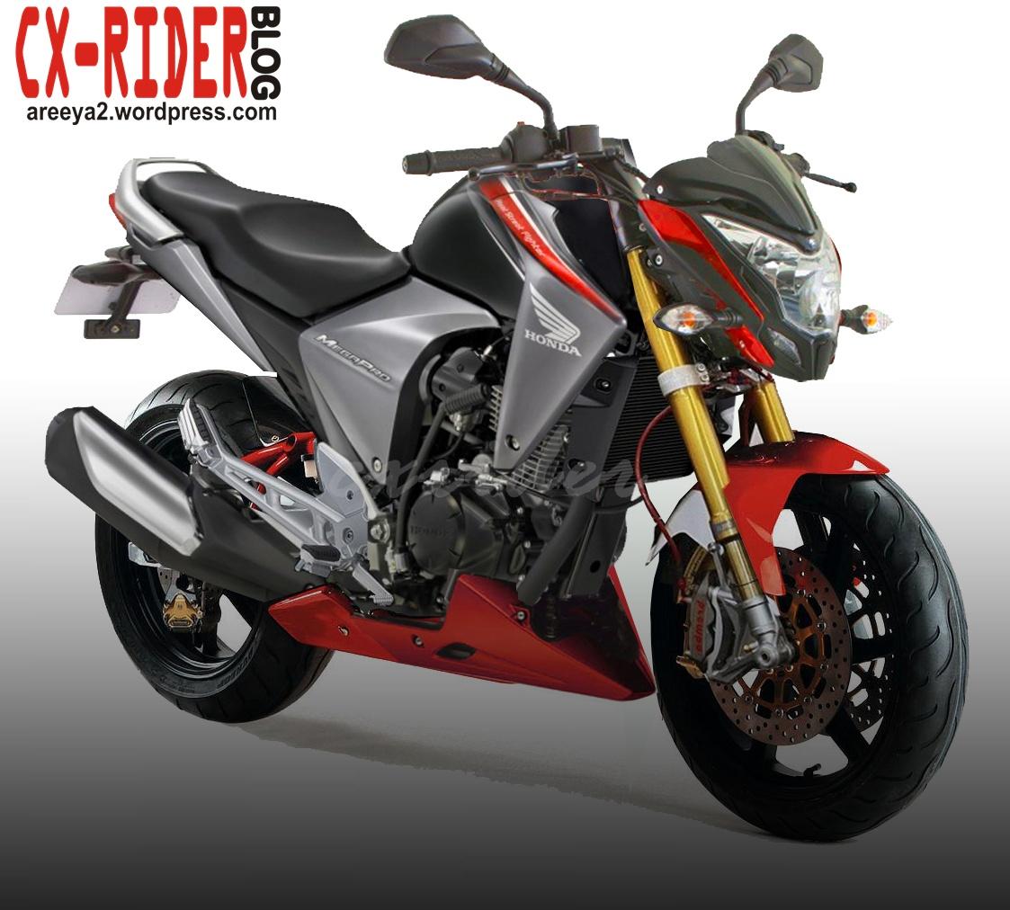 44 Modifikasi Motor Honda New Megapro 2012 Terbaru Dan Terkeren