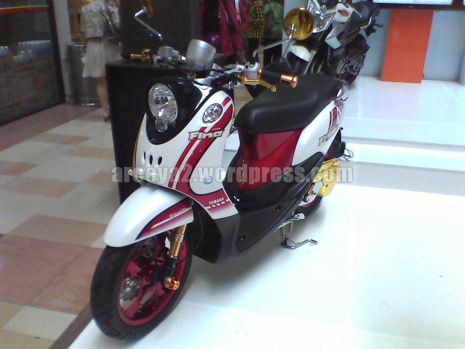 Modifikasi Motor Mio Fino Standar Pecinta Modifikasi