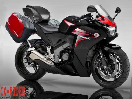 Honda CBR150R touring