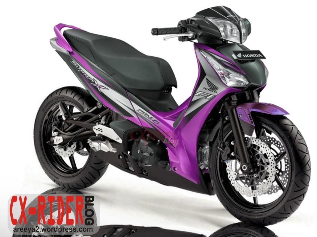 50 Modifikasi Motor Honda Supra X 125 Helm In Terlengkap Janggel Motor