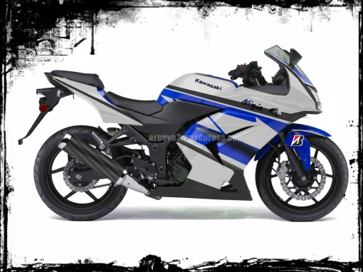 livery yamaha 2012 Kawasaki Ninja 250R