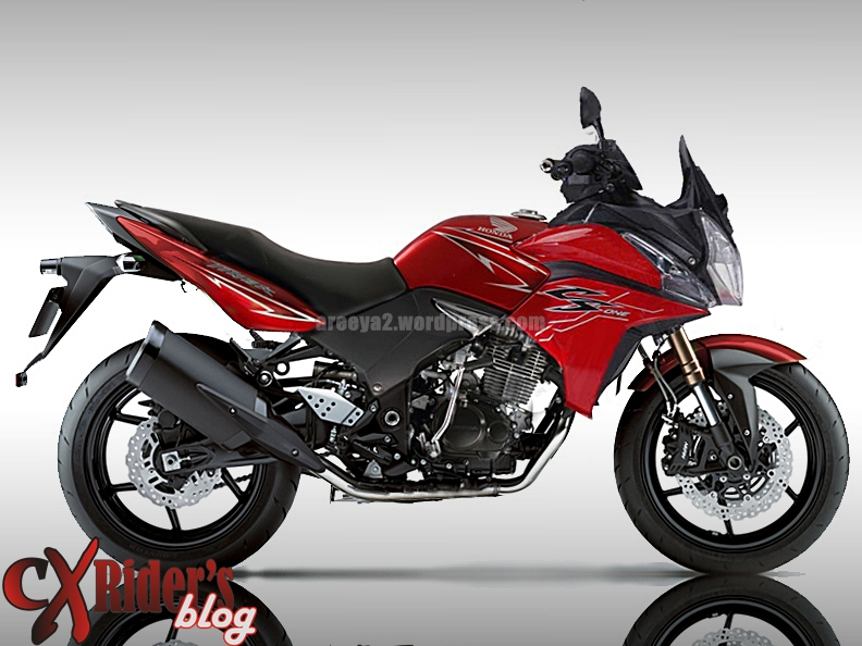 Modifikasi New Honda Tiger Revo