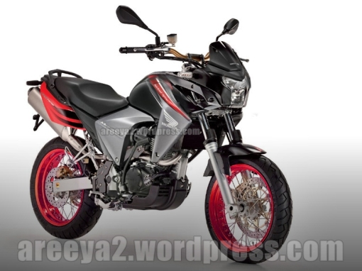 new megapro modif supermoto touring 2012