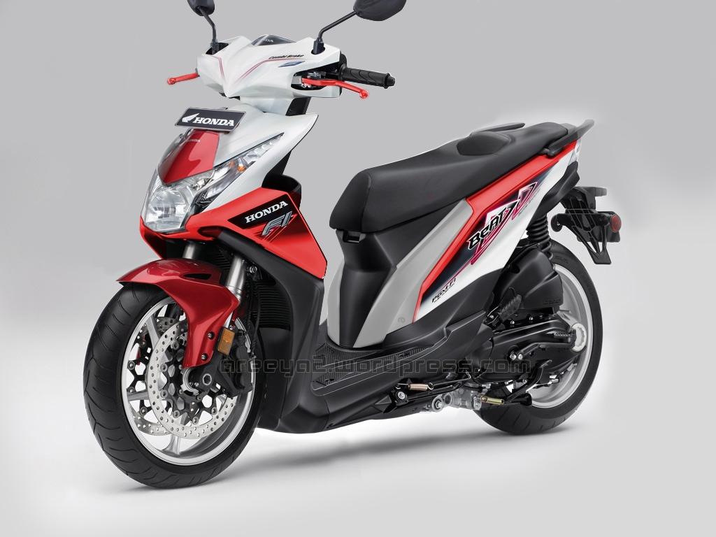 Koleksi Modifikasi Motor Metik Honda Beat Terlengkap Kampong Motor
