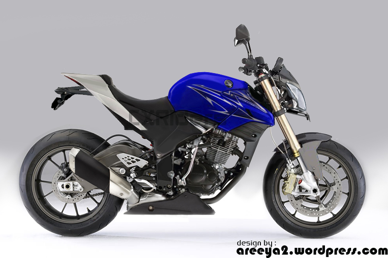 Honda Tiger Revo Modifikasi