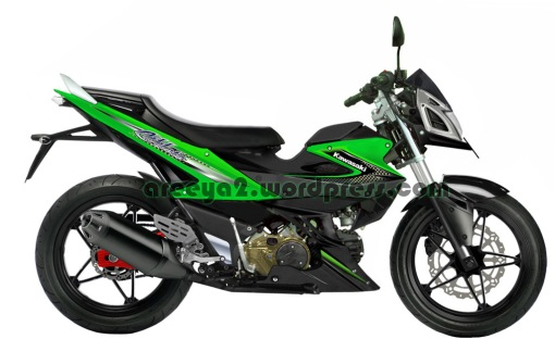 modifikasi kawasaki athlette