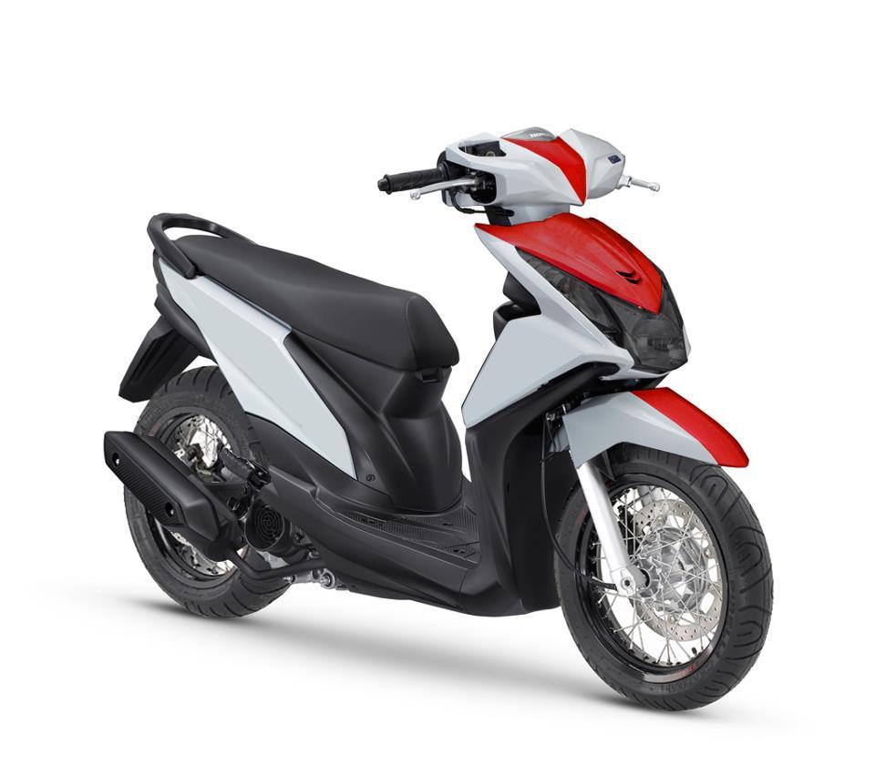 100 Modifikasi Motor Beat F1 Putih Merah Modifikasi Motor Beat Terbaru