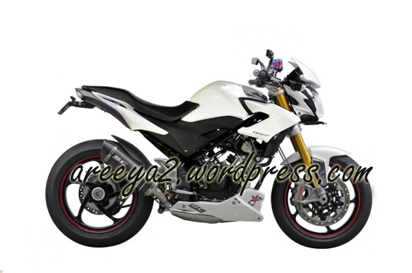Konsep modifikasi honda cb150r white fighter .
