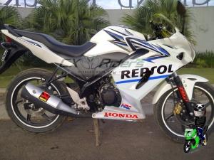 honda cb150r  custom fairing cbr250