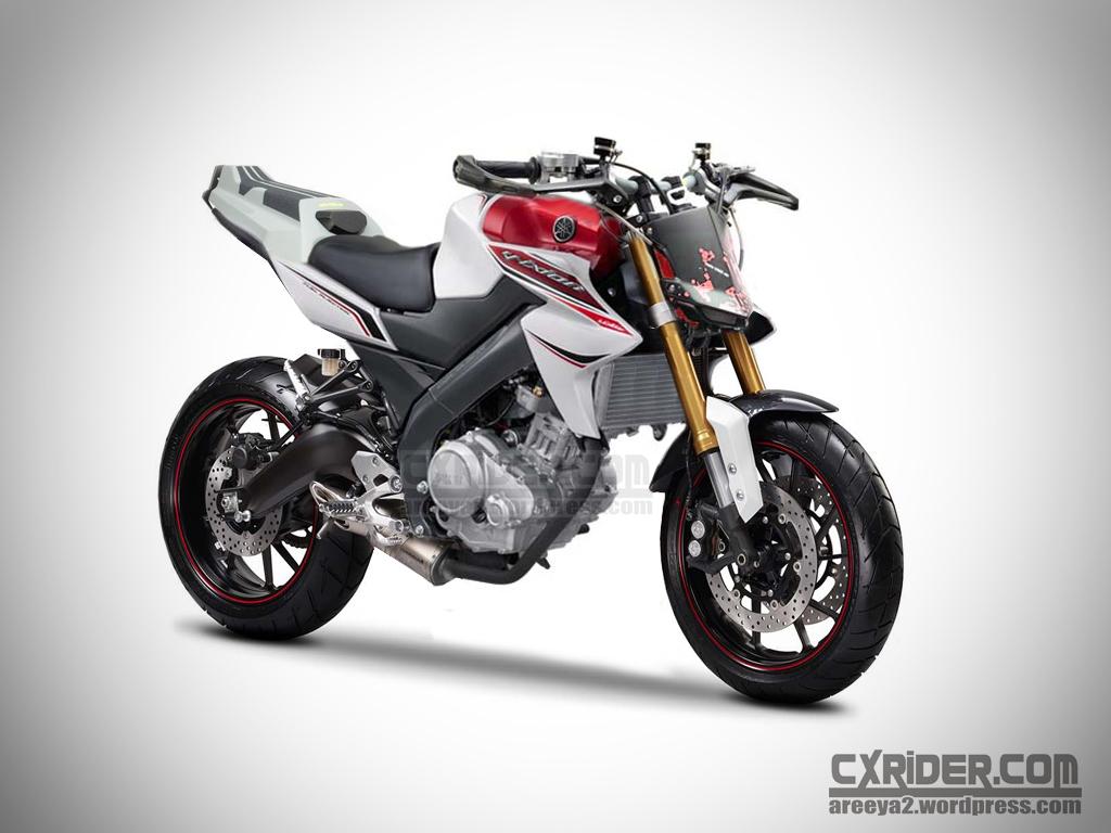 Koleksi Modifikasi Motor New Vixion Lightning Street Fighter