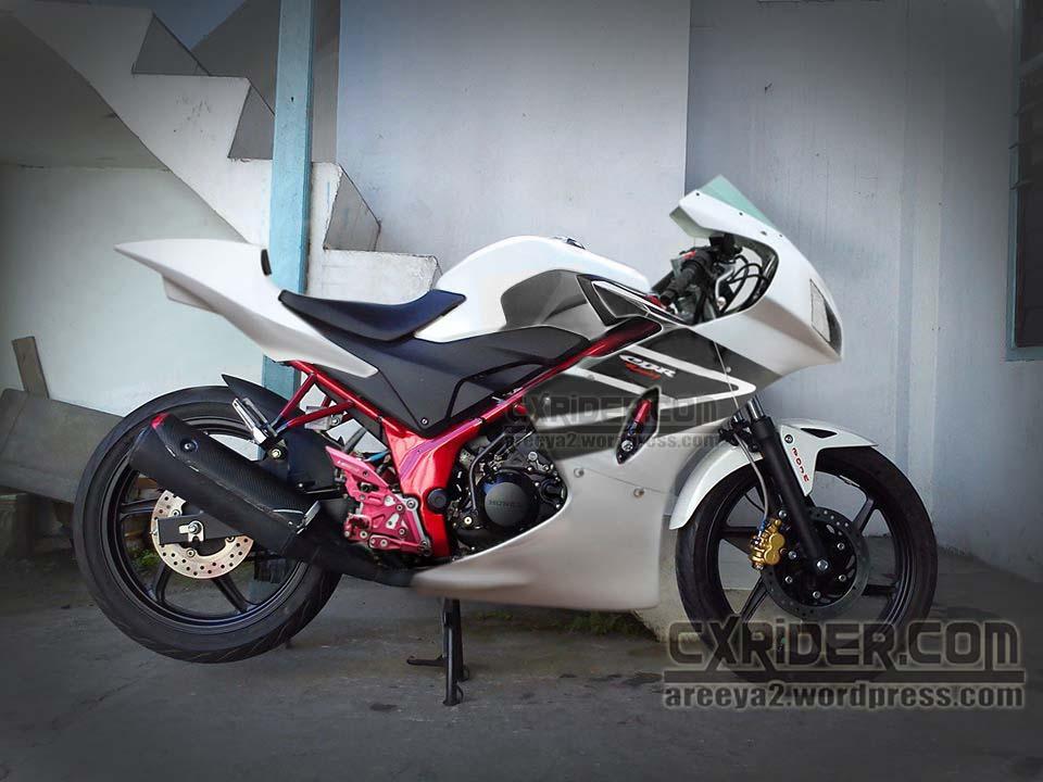 modifikasi honda cb150r fairing racing … !!