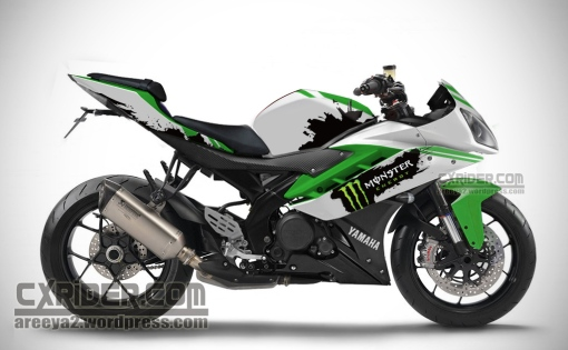 yamaha r15 monster