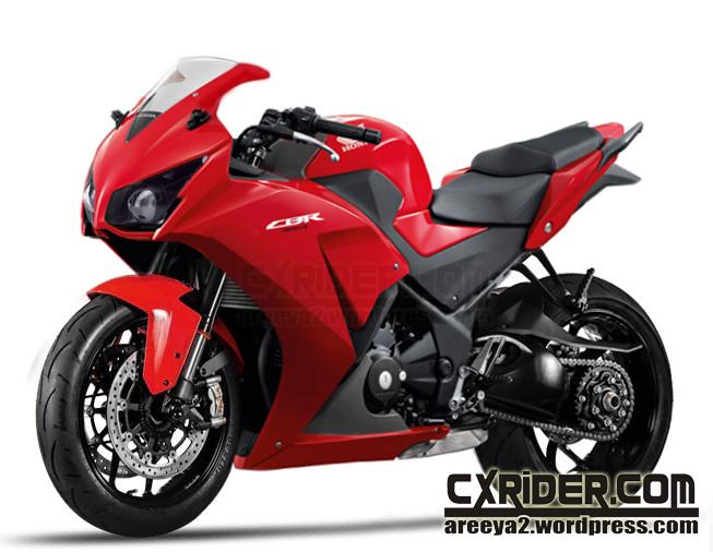 modifikasi cbr 150 merah terkeren