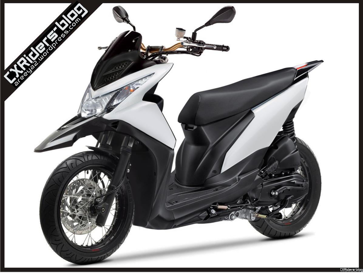 103 Modifikasi Honda Beat Fi Supermoto Modifikasi Motor Beat Terbaru