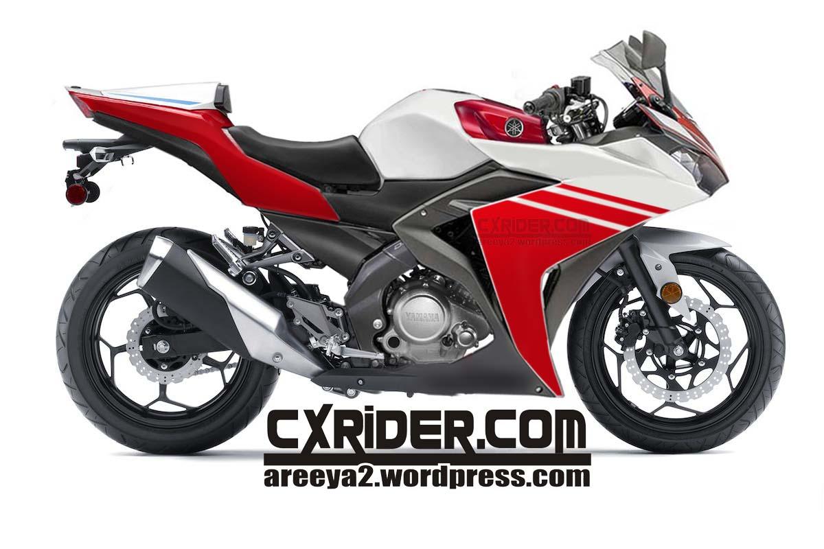 Modifikasi New Vixion Full Fairing Yzf R15