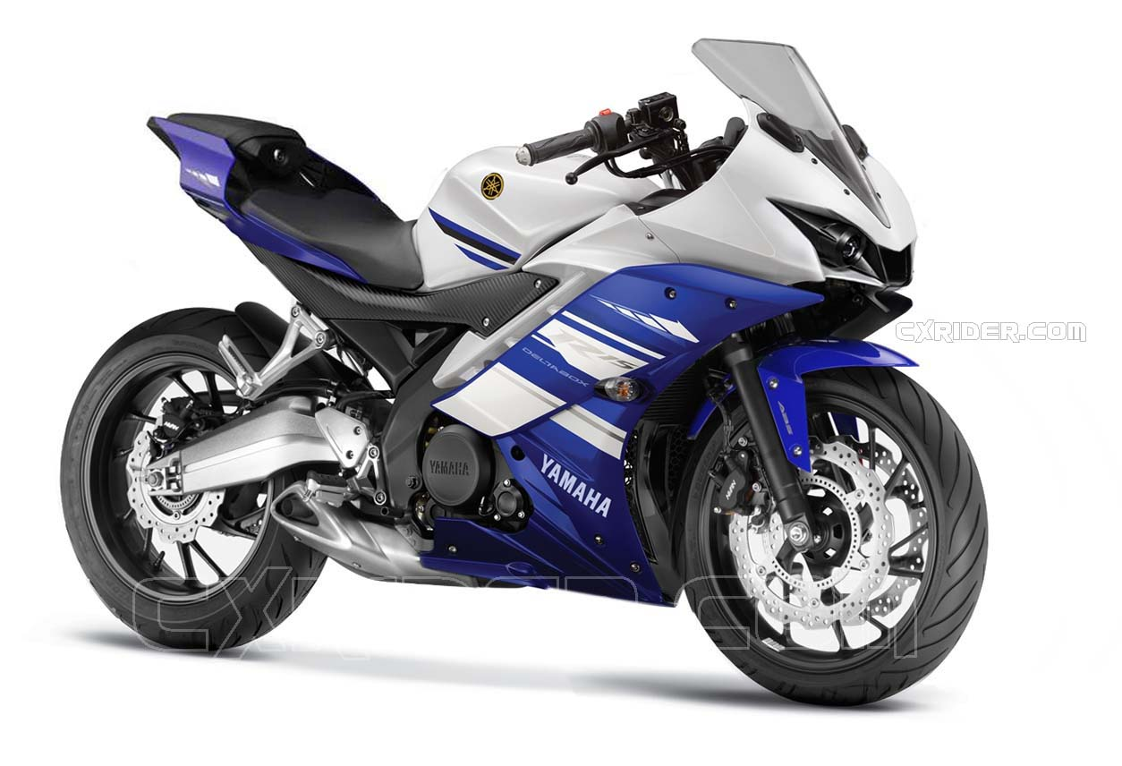yamaha r15 The yamaha r15 is a single cylinder sport bike powered by the 150cc engine that produces 17bhp and 15nm of torque gives 130 kmph top speed yamaha r15 has been popular with those who want efficiency with a whole load of sportiness.