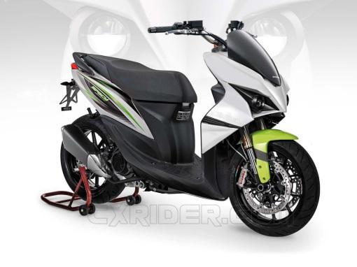 Konsep Modifikasi Honda Spacy Ego Matic