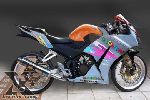 Konsep Modifikasi Honda CBR150 Thailook Style