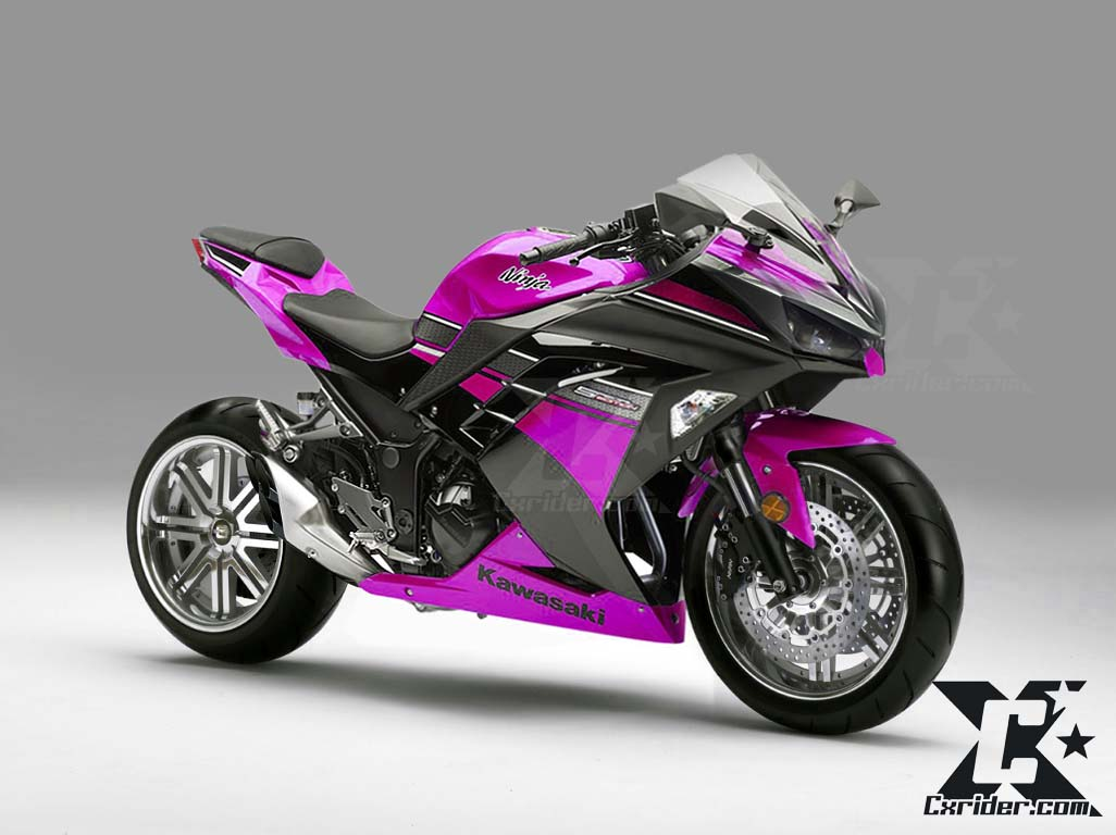 Konsep Modifikasi Kawasaki Ninja250fi  Racing Elegan