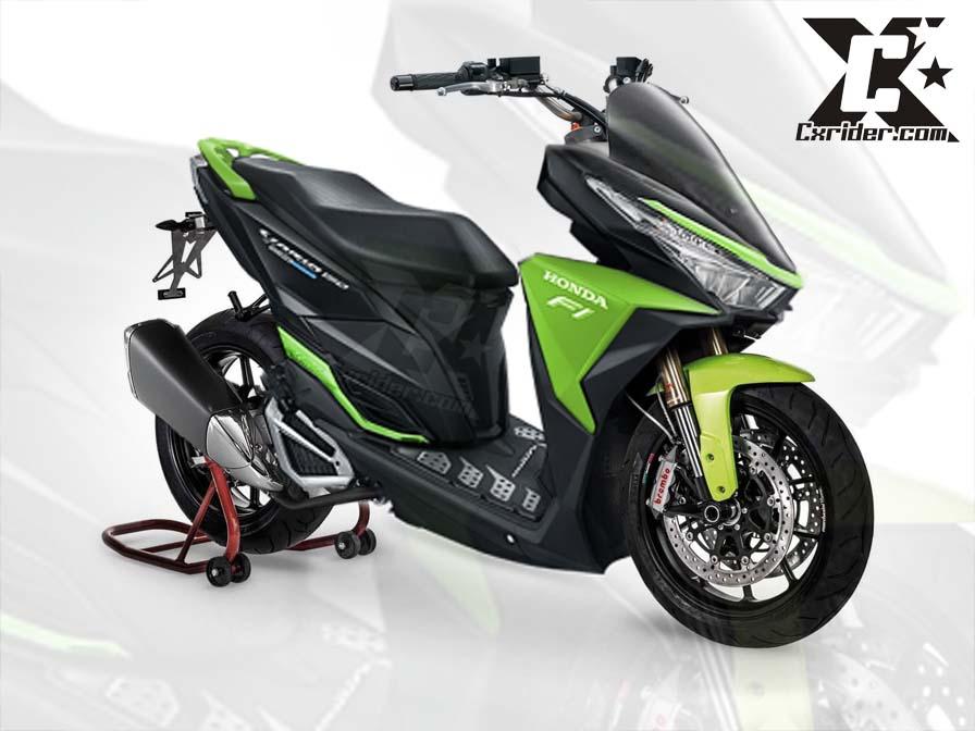 Konsep modifikasi Honda New Vario 150 ESP touring | CXRider.com