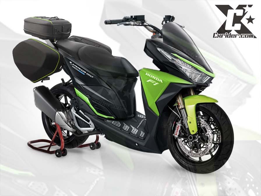 modifikasi motor matic vario 150 terbaru