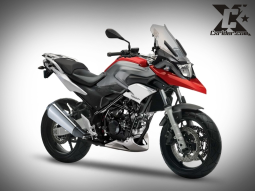modifikasi cb150r adventure touring