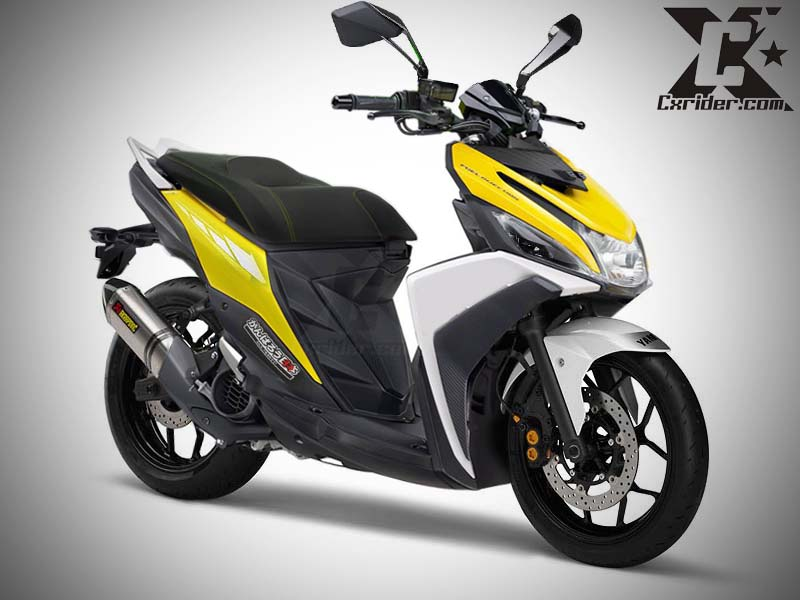 referensi modifikasi yamaha mio m3 125 blue core