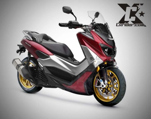 modifikasi yamaha nmax 150