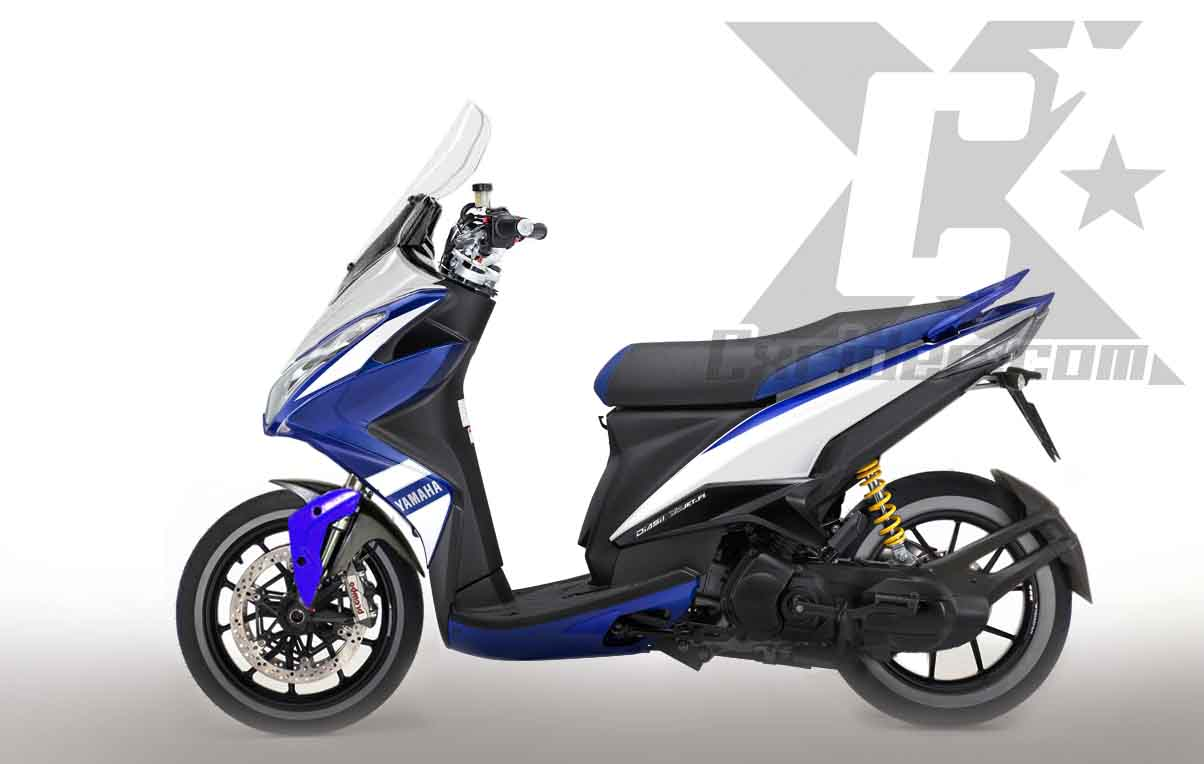 Download Koleksi 65 Modifikasi Yamaha Xeon Rc Terbaik Kempoul Motor