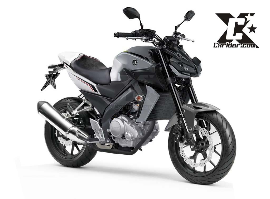 Modifikasi Yamaha New Vixion ala Yamaha MT09 2017  CXRider.com